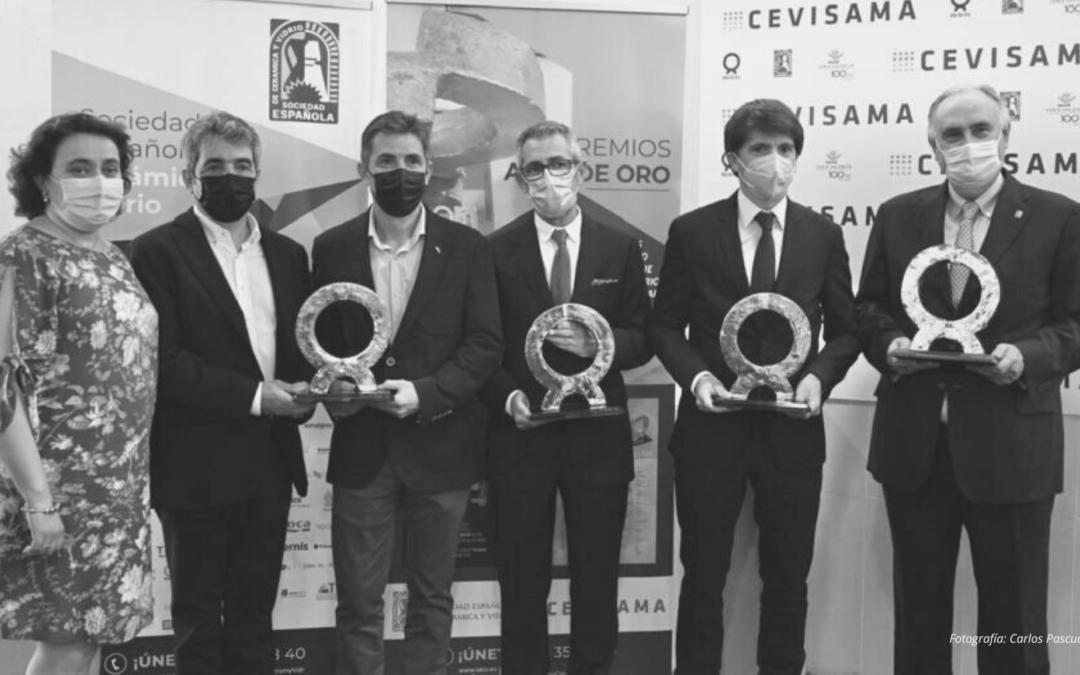 Keros Cerámica/Ferro Spain, Coloronda, Realonda y Sistemas de Diseño Digital, se alzan con los Alfa de Oro 2021